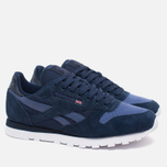 Мужские кроссовки Reebok CL Leather NP Collegiate Navy/Midnight Blue/White фото- 1