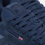 Мужские кроссовки Reebok CL Leather NP Collegiate Navy/Midnight Blue/White фото- 4