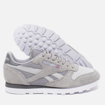 Мужские кроссовки Reebok CL Leather NP Grey/Steel/Shark/White фото- 2