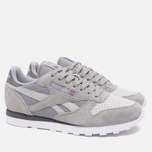 Мужские кроссовки Reebok CL Leather NP Grey/Steel/Shark/White фото- 1