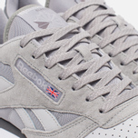 Мужские кроссовки Reebok CL Leather NP Grey/Steel/Shark/White фото- 5