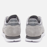 Мужские кроссовки Reebok CL Leather NP Grey/Steel/Shark/White фото- 3