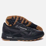 Мужские кроссовки Reebok Classic Leather 2.0 Black/White/Gum фото- 2