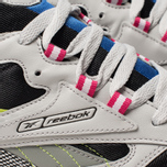 Мужские кроссовки Reebok Classic Leather ATI 90S Skull Grey/Black/Pink фото- 6