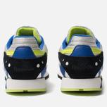 Мужские кроссовки Reebok Classic Leather ATI 90s White/Black/Neon Lime/Cobalt фото- 3