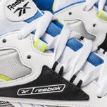 Мужские кроссовки Reebok Classic Leather ATI 90s White/Black/Neon Lime/Cobalt фото- 6