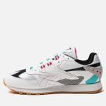 Мужские кроссовки Reebok Classic Leather ATI 90S White/Teal/Black/Grey фото- 1