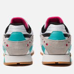 Мужские кроссовки Reebok Classic Leather ATI 90S White/Teal/Black/Grey фото- 3