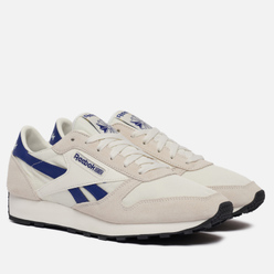 Мужские кроссовки Reebok Classic Leather AZ Chalk/Deep Cobalt/Black