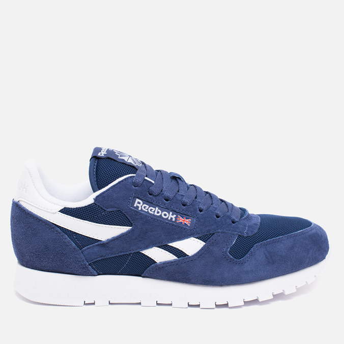 Мужские кроссовки Reebok Classic Leather IS Midnight Blue/White