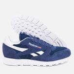 Мужские кроссовки Reebok Classic Leather IS Midnight Blue/White фото- 2