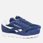 Мужские кроссовки Reebok Classic Leather IS Midnight Blue/White фото- 1