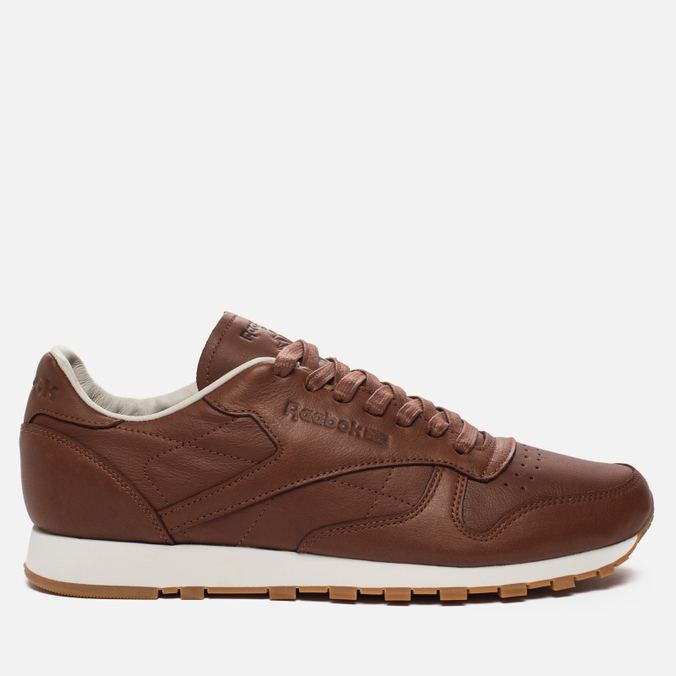 Мужские кроссовки Reebok Classic Leather Lux Ginger/Chalk/Beach Stone/Beige