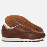 Мужские кроссовки Reebok Classic Leather Lux Ginger/Chalk/Beach Stone/Beige фото- 2