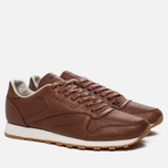 Мужские кроссовки Reebok Classic Leather Lux Ginger/Chalk/Beach Stone/Beige фото- 1