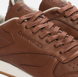 Мужские кроссовки Reebok Classic Leather Lux Ginger/Chalk/Beach Stone/Beige фото- 5