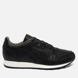 Мужские кроссовки Reebok Classic Leather Lux Horween Black/Coal/Chalk фото- 0
