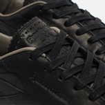 Мужские кроссовки Reebok Classic Leather Lux Horween Black/Coal/Chalk фото- 3