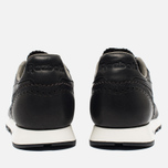 Мужские кроссовки Reebok Classic Leather Lux Horween Black/Coal/Chalk фото- 5