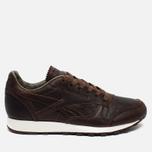 Reebok Classic Leather Lux Horween Just Men's Sneakers Brown/Golden Brown/Chalk photo- 0