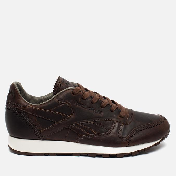 Reebok Classic Leather Lux Horween Just Men's Sneakers Brown/Golden Brown/Chalk