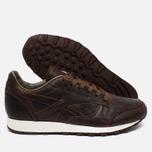 Reebok Classic Leather Lux Horween Just Men's Sneakers Brown/Golden Brown/Chalk photo- 2