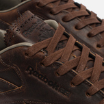 Мужские кроссовки Reebok Classic Leather Lux Horween Just Brown/Golden Brown/Chalk фото- 3
