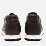 Мужские кроссовки Reebok Classic Leather Lux Horween Just Brown/Golden Brown/Chalk фото- 5