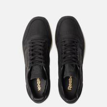 Мужские кроссовки Reebok Classic Leather Lux PW Black/Beige/Chalk/Beach Stone фото- 1