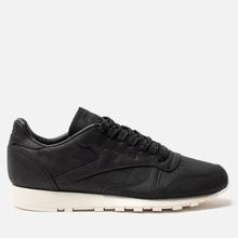 Мужские кроссовки Reebok Classic Leather Lux PW Black/Beige/Chalk/Beach Stone фото- 3