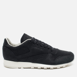 Мужские кроссовки Reebok Classic Leather Lux PW Black/Beige/Chalk/Beach Stone фото- 0