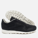 Мужские кроссовки Reebok Classic Leather Lux PW Black/Beige/Chalk/Beach Stone фото- 2