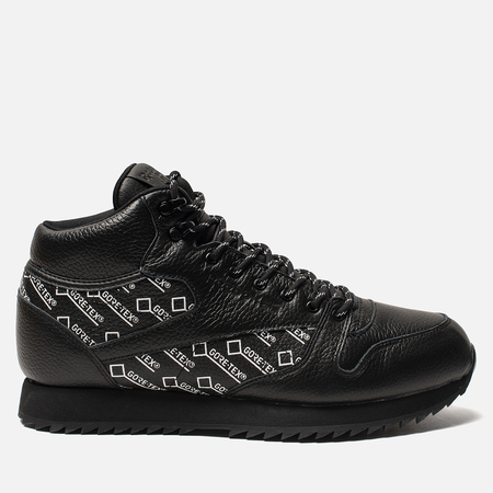 Мужские кроссовки Reebok Classic Leather Mid Ripple Gore-Tex Black/White