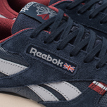 Мужские кроссовки Reebok Classic Leather MU Navy/Red/Stucco/Grey фото- 6