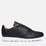 Мужские кроссовки Reebok Classic Leather PN Black/White фото- 0