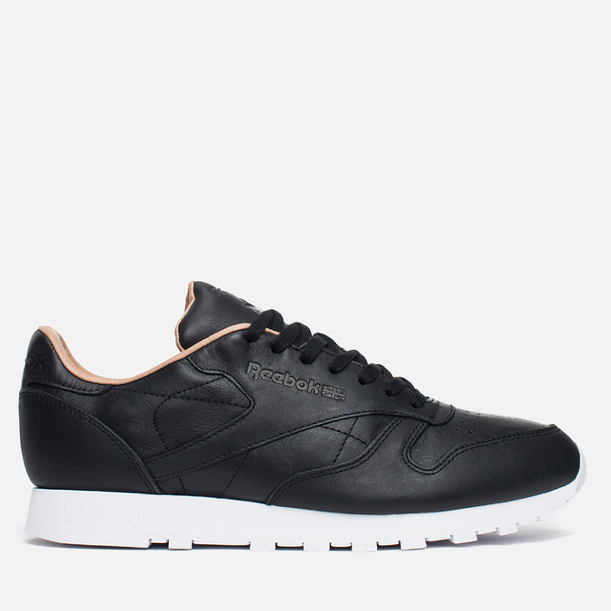 Мужские кроссовки Reebok Classic Leather PN Black/White
