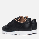 Reebok Classic Leather PN Men's Sneakers Black/White photo- 2