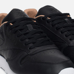 Мужские кроссовки Reebok Classic Leather PN Black/White фото- 5