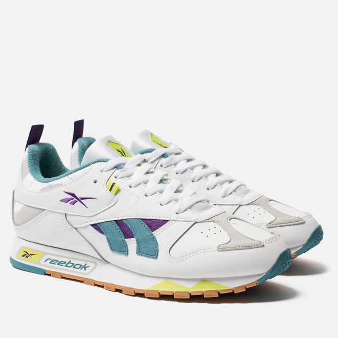 Мужские кроссовки Reebok Classic Leather RC 1.0 White/Skull Grey/Skull Grey