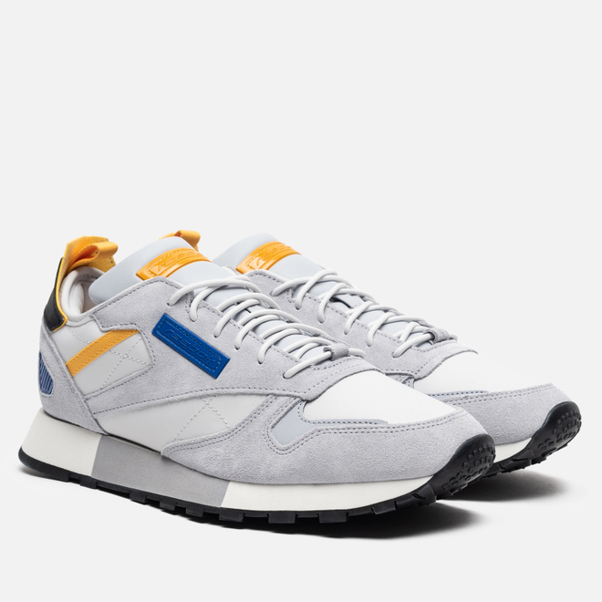 Мужские кроссовки Reebok Classic Leather REE:DUX Porcelain/Cold Grey/Humble Blue