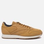 Мужские кроссовки Reebok Classic Leather Ripple WP Golden Wheat/Urban Grey/Chalk фото- 0