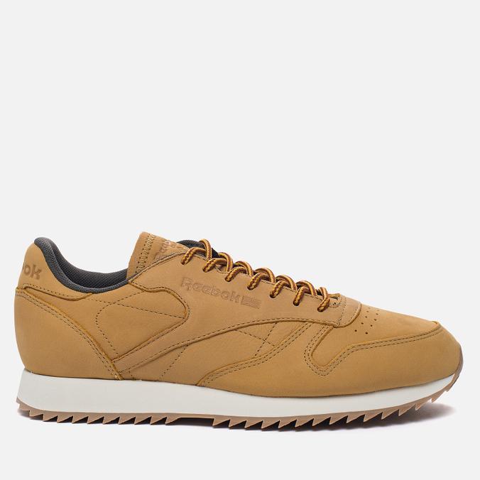 Мужские кроссовки Reebok Classic Leather Ripple WP Golden Wheat/Urban Grey/Chalk