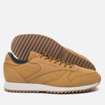 Мужские кроссовки Reebok Classic Leather Ripple WP Golden Wheat/Urban Grey/Chalk фото- 1