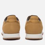 Мужские кроссовки Reebok Classic Leather Ripple WP Golden Wheat/Urban Grey/Chalk фото- 3