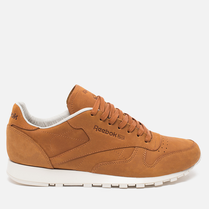 Мужские кроссовки Reebok Classic Leather Rusty/Beige/Chalk/Beach Stone