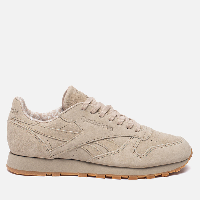 Мужские кроссовки Reebok Classic Leather TDC Oatmeal/Gum