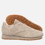 Мужские кроссовки Reebok Classic Leather TDC Oatmeal/Gum фото- 1