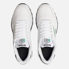Мужские кроссовки Reebok Classic Leather Vector White/Black/Emerald фото- 1