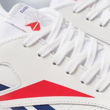 Мужские кроссовки Reebok Classic Leather Vector White/Scarlet/Phantom Blue фото- 6