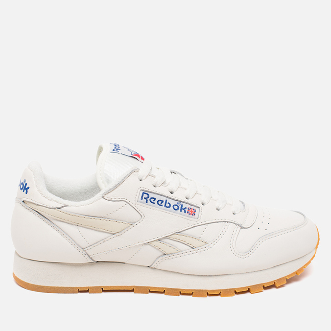 Мужские кроссовки Reebok Classic Leather Vintage Chalk/Paper White
